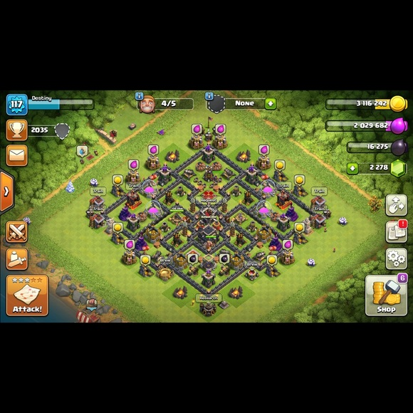 Other - Clash of Clans account (Townhall 9). (BEST OFFER)